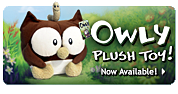 Owly Plush Toy!